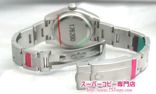 (ROLEX)ロレックスコピー レディース時計 オイスターパーペチュアル 176200