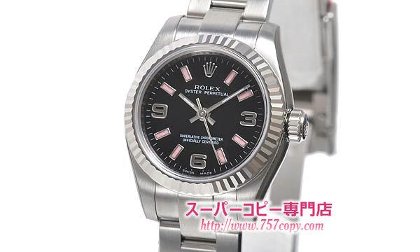 (ROLEX)ロレックスコピー 時計 レディース時計 オイスターパーペチュアル 176234