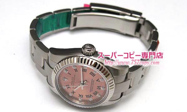 (ROLEX)ロレックス コピー 時計 レディース オイスターパーペチュアル 176234G