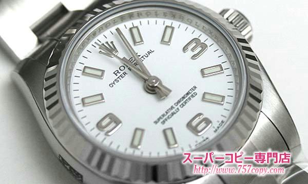 (ROLEX)ロレックスコピー レディース時計 オイスターパーペチュアル 176234