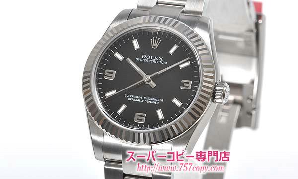 (ROLEX)ロレックス コピー 時計 ユニセックス オイスターパーペチュアル 177234