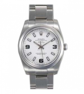 ロレックスコピー時計 オイスターパーペチュアル エアキング 114200 代引き発送