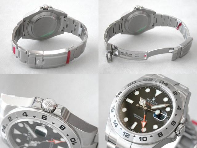 ロレックス コピー腕時計 エクスプローラーII 新型 ブラック 216570