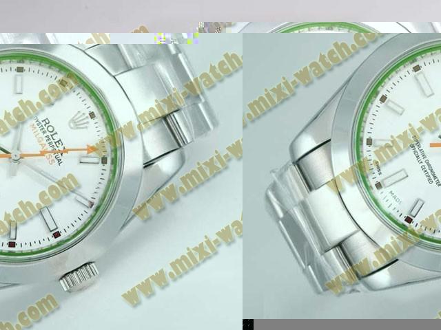 ロレックス ミルガウス ステンレススチール ストラクチュア バージョン 39Mm オートマティック ウオッチ