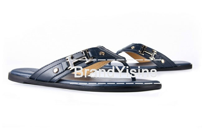 エルメス トングサンダル ビーチサンダル メンズ ネイビー HR275017-4
