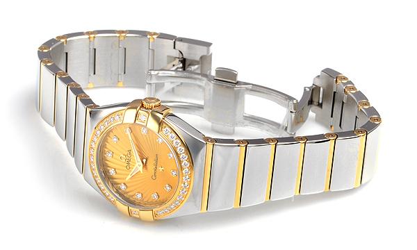 コピー腕時計 オメガ コンステレーション ポリッシュクォーツ123.25.27.60.58.002格安コピー