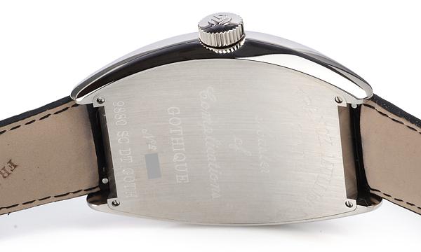 フランク・ミュラー     トノウカーベックス ゴシック・アロンジェ9880SCDTGOTH
