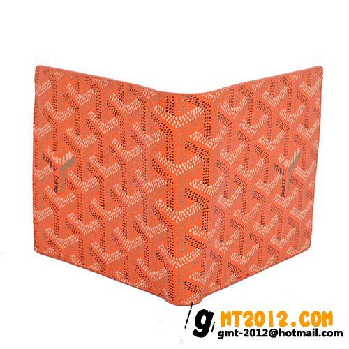 ゴヤール 二つ折り財布 オレンジ GOYARD-122
