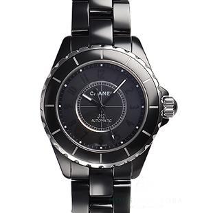 シャネルJ12 スーパーコピー時計代引き対応安全38 インテンスブラックワンショットモデルH3829 安全なサイト