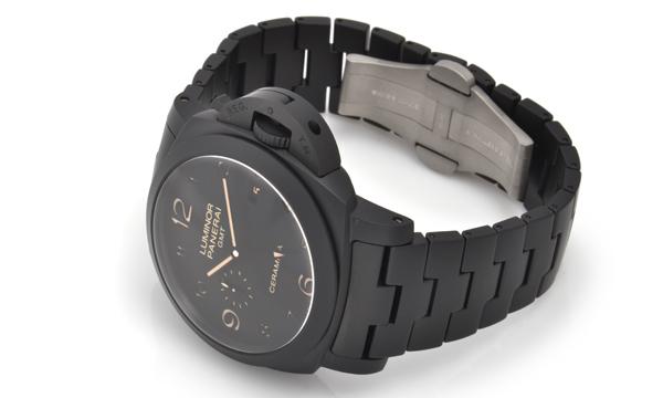 パネライコピールミノール1950 3デイズ GMTトゥットネロPAM00438