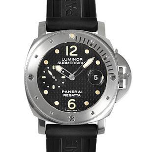 パネライ時計 コピー安全代引き日本ルミノール サブマーシブル レガッタ2004 500本限定 PAM00199