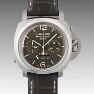 パネライ   ルミノール1950 8デイズクロノ モノプルサンテGMT PAM00311