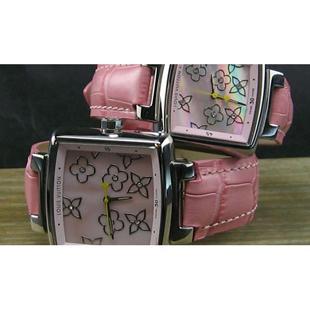 ルイヴィトン 時計コピー代引き口コミ恋人時計ピンクLV-030 中国国内発送安全