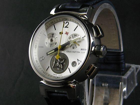 ルイヴィトン   時計シルバー文字盤 LV-028