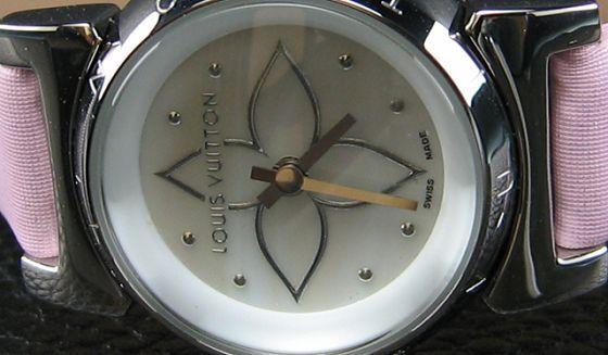 ルイヴィトン   時計婦人用極小時計 LV-027