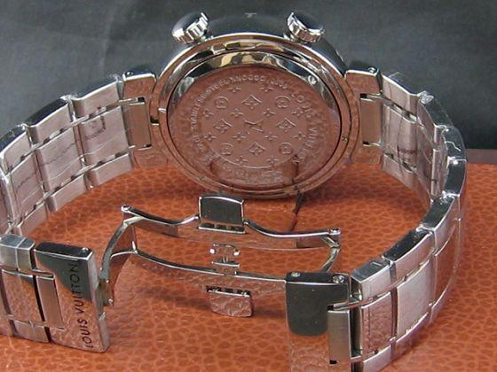 ルイヴィトン   時計LV277シルバー文字盤 LV-022