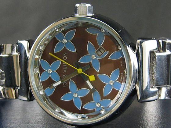 ルイヴィトン   時計自動巻茶文字盤女性用LV-003