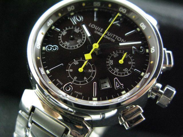 ルイヴィトン  時計 タンブール・クロノ・7750搭載 LVTC0101