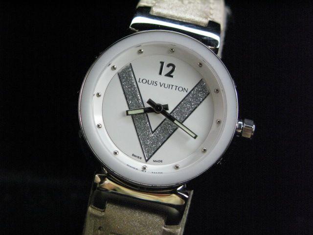 ルイヴィトン  時計 タンブール・クォーツ・H LVTA0306