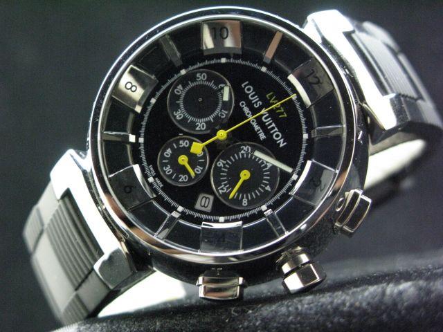 ルイヴィトン  時計 タンブール・クロノ・クォーツ・タイプB・B LVTC0202