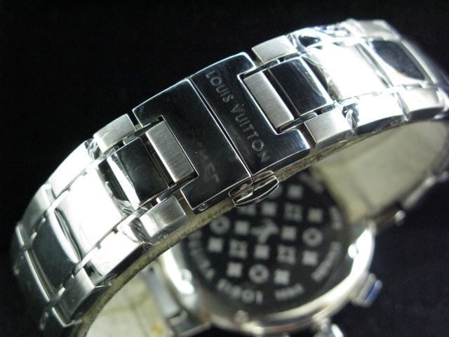 ルイヴィトン  時計 タンブール・クロノ・クォーツ・タイプB・A LVTC0201