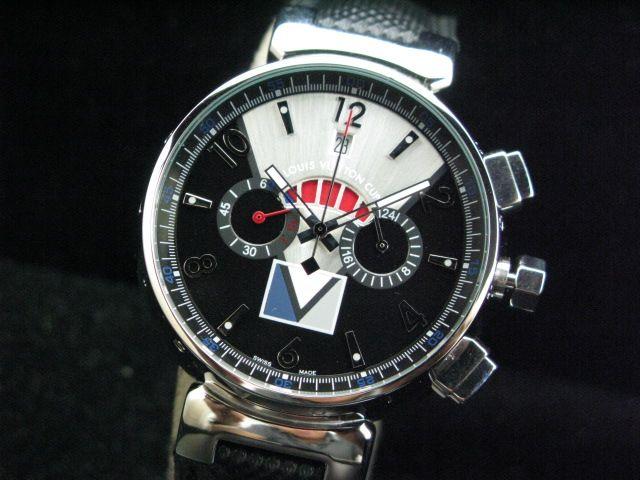 ルイヴィトン  時計 タンブール・クロノ・クォーツ・タイプB・C LVTC0203