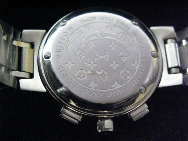 ルイヴィトン  時計 タンブール・クロノ・クォーツ・C LVTC0403