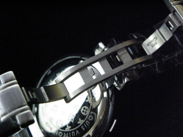ルイヴィトン  時計 タンブール・クロノ・クォーツ・B LVTC0402