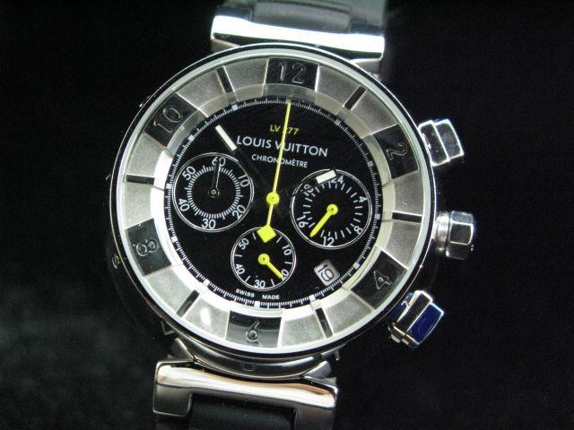 ルイヴィトン  時計 タンブール・クロノ・クォーツ・F LVTC0405