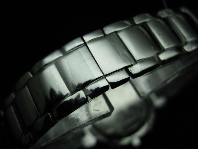 ルイヴィトン  時計 タンブール・クロノ・レディース・SSブレスLVTC1002
