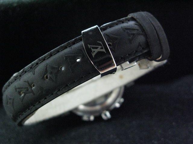 ルイヴィトン  時計 タンブール・クロノ・普及版 LVTC1001