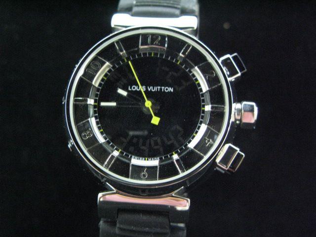 ルイヴィトン  時計 タンブール・トラベル・デジタル LVTT0101