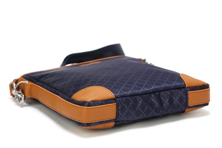 51803-4 GUCCIグッチ 男性 ハンドバッグ メッセンジャーバッグ ショルダーバッグ ブルー Gucci布革