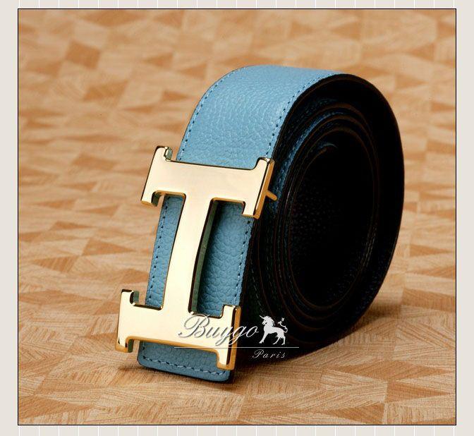 エルメス  レザーベルト リバーシブル belt1012L