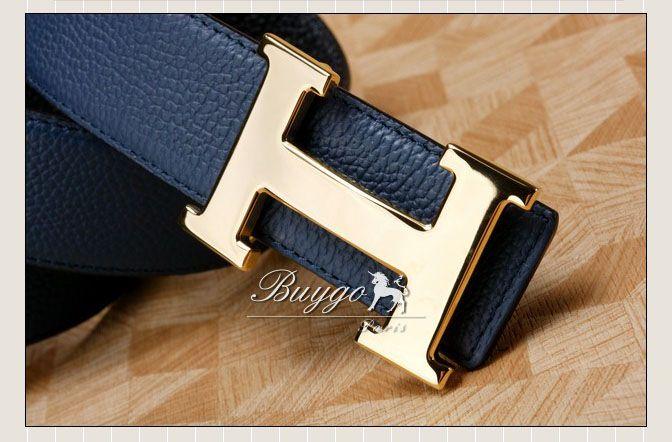 エルメス  レザーベルト リバーシブル belt1012SL
