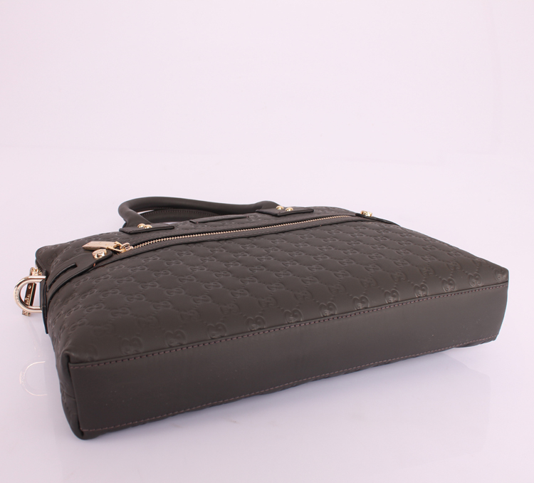 Gucciフルレザー 7968-31:1 GUCCIグッチ ブラウン 男性 ハンドバッグ メッセンジャーバッグ ショルダーバッグ