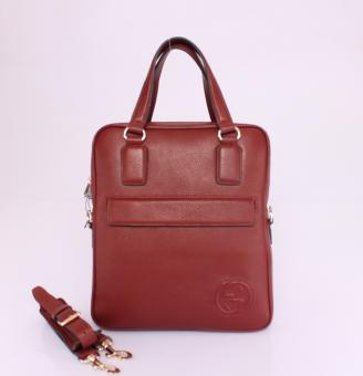 グッチ バッグ スーパーコピー 代引き対応安全 赤い 男性 ハンドバッグ メッセンジャーバッグ ショルダーバッグ Gucciフルレザー 322053