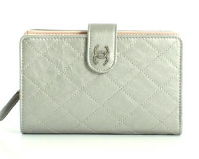 chanelコピー財布 ココマーク キルティング 二つ折財布 通販信用できる