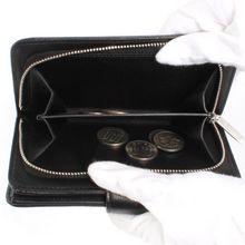 品番:lwcha50170bkslシャネル CHANEL キャビアスキン 二つ折財布 ブラッ