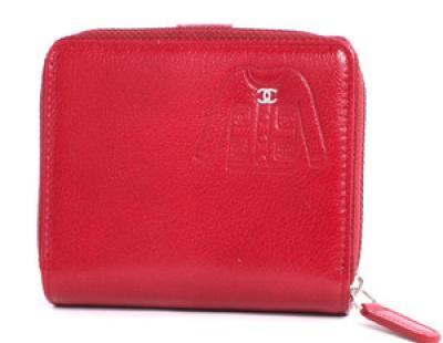 chanel コピー財布 ジャケット 二つ折財布 ルージュレ