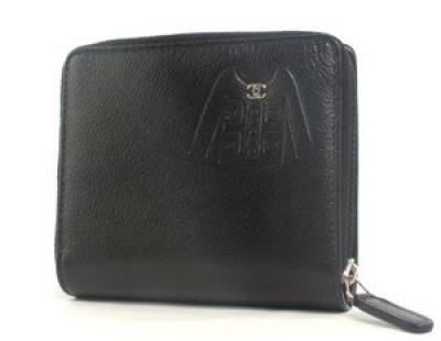 コピー シャネル財布 ジャケット 二つ折財布 ブラック