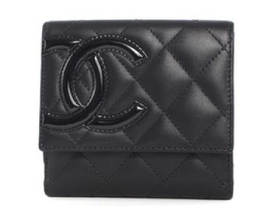 chanel スーパーコピー財布 カンボンライン 二つ折財布