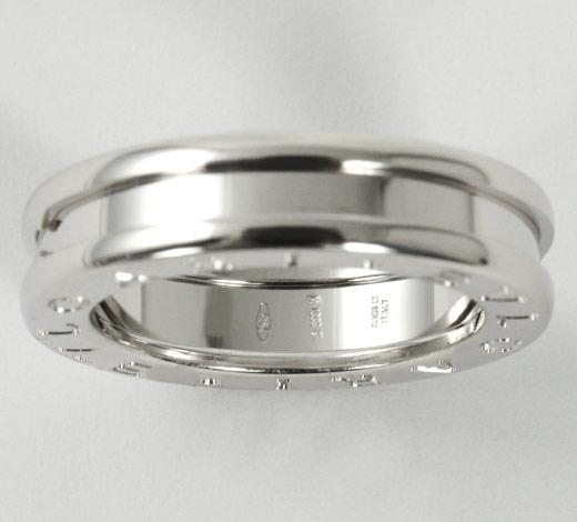 ブルガリ BVLGARI ビーゼロワン リング(指輪) ホワイトゴールド【1バンド】 AN852423