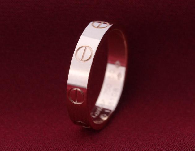 カルティエ Cartier ビスモチーフ ミニラブ リング【指輪】 ピンクゴールド B4085200