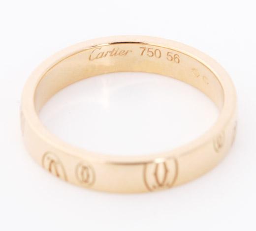 カルティエ Cartier ハッピーバースディ リング【指輪】 ピンクゴールド SM B4051100