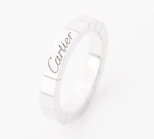 カルティエ Cartier ラニエール リング【指輪】 ホワイトゴールド B4045000