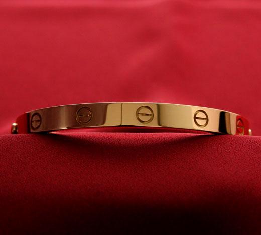 カルティエ Cartier ラブ ブレスレット イエローゴールド B60081963