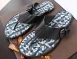 ルイヴィトン ビーチサンダル メンズ グラフィティ ブラック LV275012-1